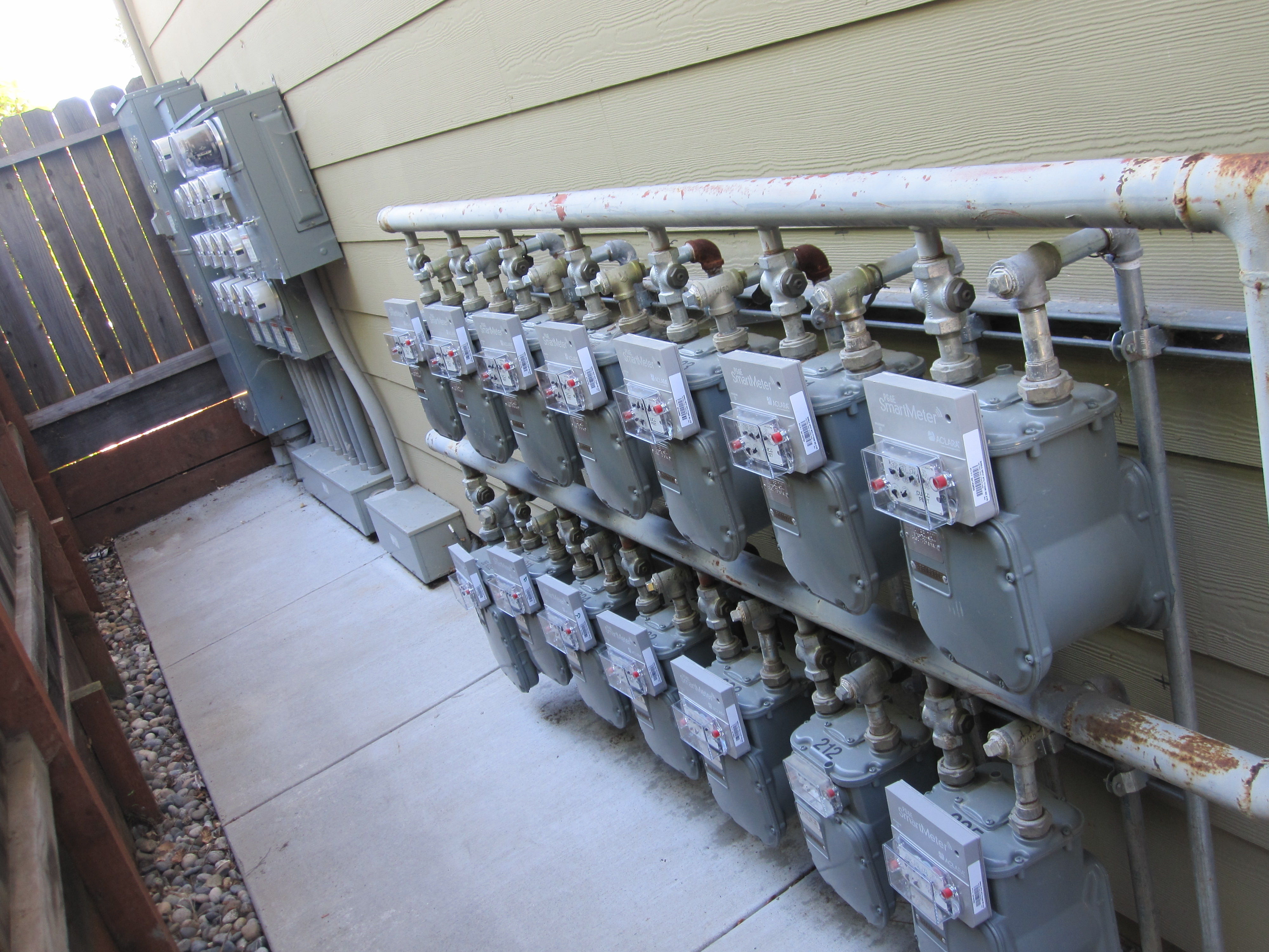 Installing a gas meter in the apartment. Household gas meters 50