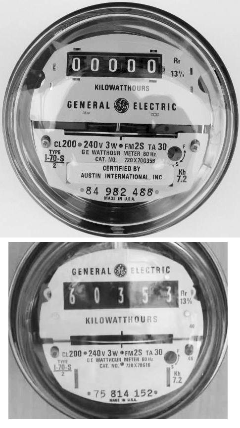 Electric Meter Number : Buy your analog meter here stop smart meters