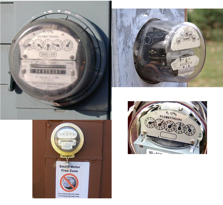 Analog Electric Meter : Photos of analog meters stop smart