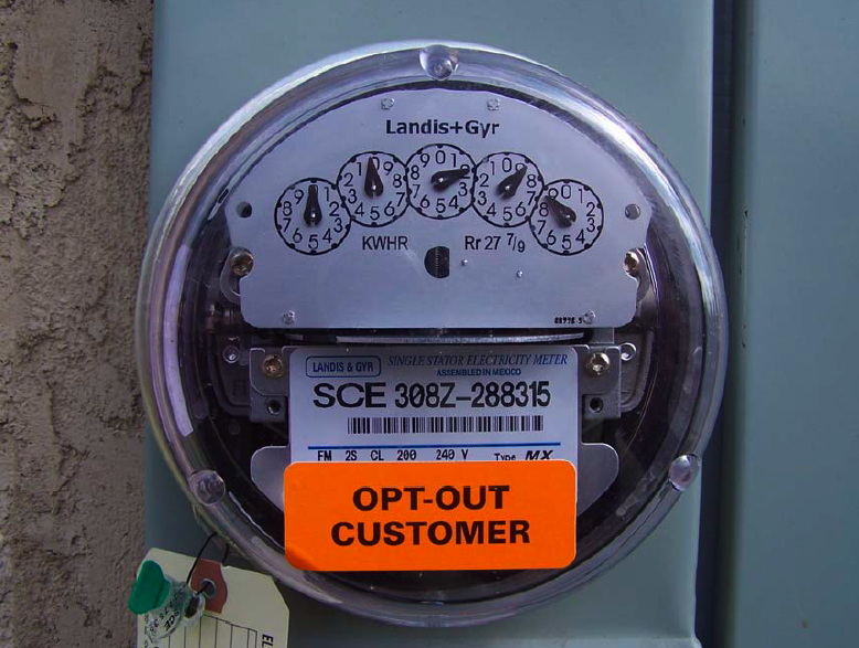 "The ""trojan horse"" analog meter that SCE installed on JN's home.   Beware."