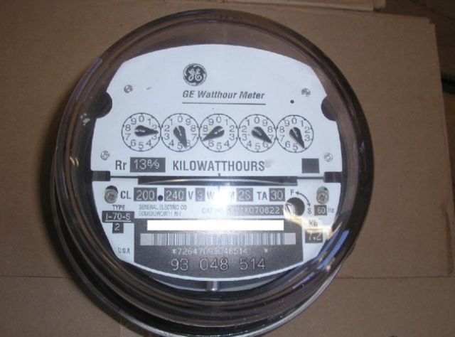 "The analog meter that SMUD is installing on ""opt out"" customers' homes.  Unlike many 'trojan horse"" analogs that are wireless or wireless ready, this appears to be a real, genuine analog meter.   The real thing at last and a departure for the lying sacks of smug at SMUD"