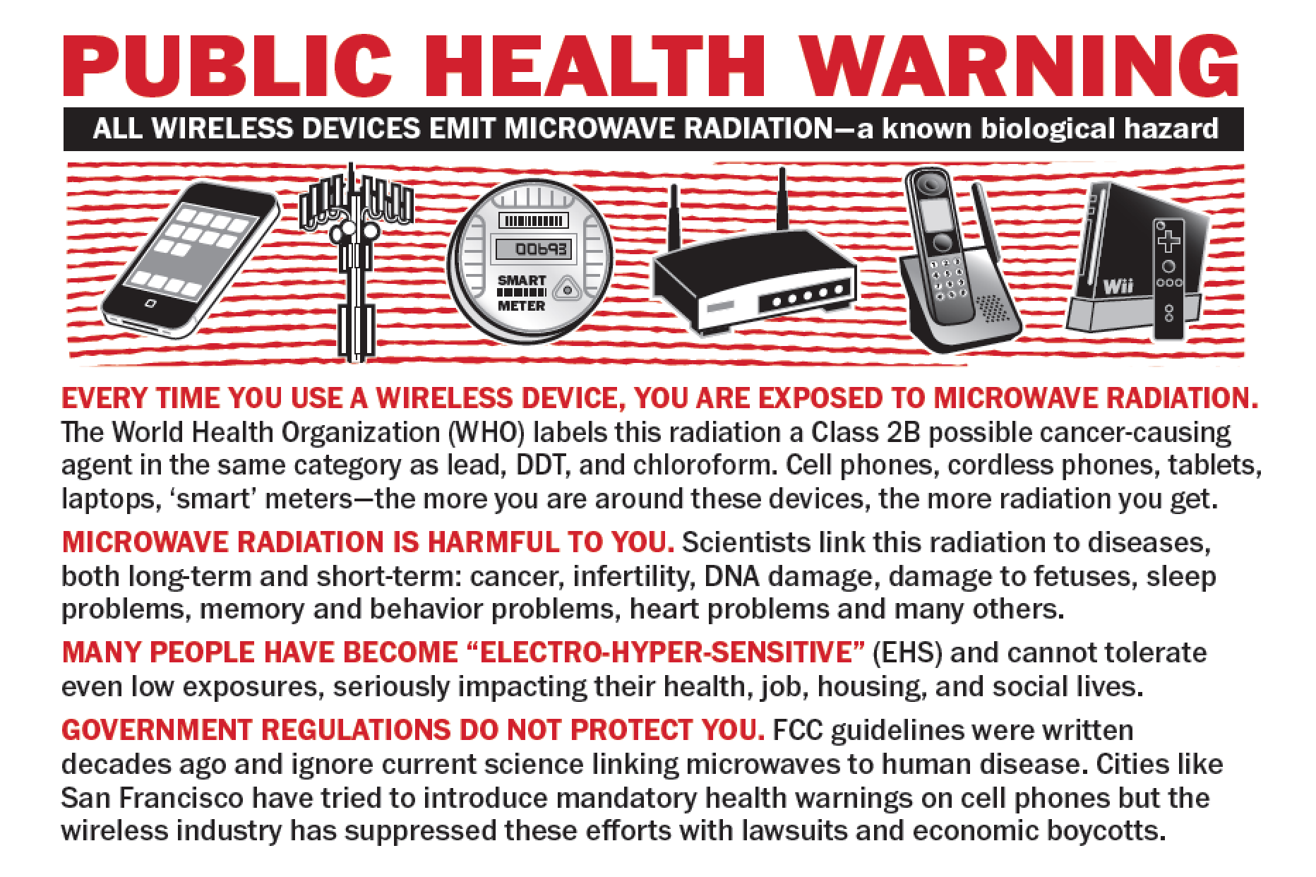 Wireless Public Health Warning Cards Now in Stock!
