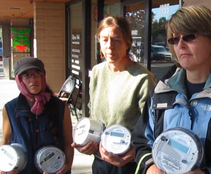 California residents return smart meters en masse to the utility in an early action coordinated by StopSmartMeters.org