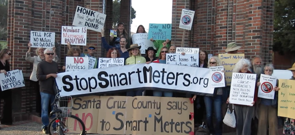 First International Day of Action to Stop Smart Meters Oct. 4th 2012