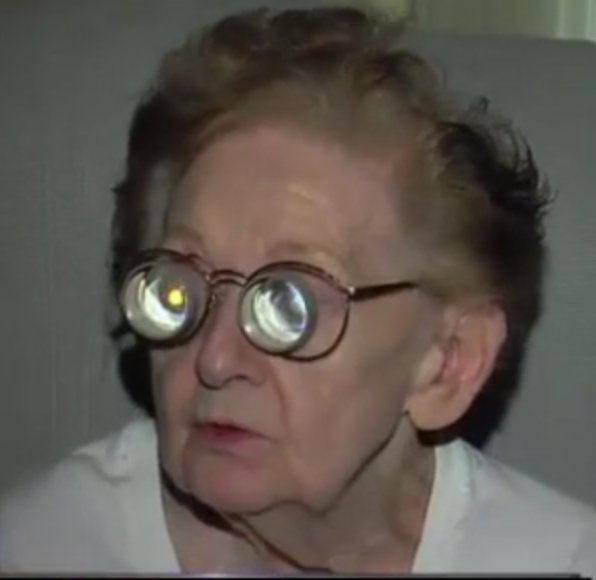 92 year old and legally blind, Olga Puste was also disconnected by DTE, for securing her analog meter