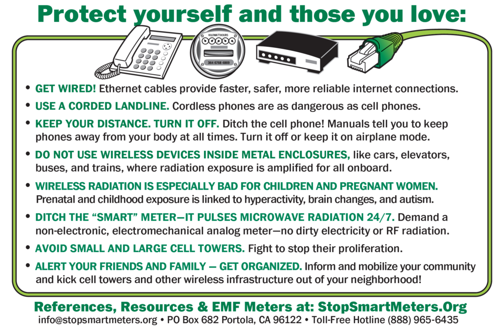 Stop Smart Meters!   Fighting for health, privacy, and safety